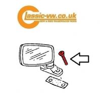 Door Mirror Fixing Screw (Genuine)  N0330231 Mk1 / 2 Golf, Jetta, Scirocco, Caddy